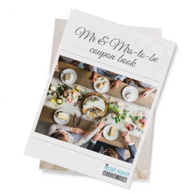 Mr & Mrs-to-be Coupon Book